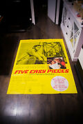 Five Easy Pieces 4x6 Ft Vintage French Grande Movie Poster Original 1970