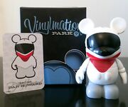 Disney Vinylmation 3 Park Series 1 Monorail Red Collectible Toy Figure Dlr Wdw