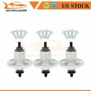 3 Pk Mower Spindle For John Deere Gy20454 Gy20867 Gy20962 D100 D105 D110 D120