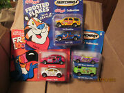 Lot Of 3 Matchbox Kellogg's Collection Car Sets-6 Cars Total-brand New-l@@k