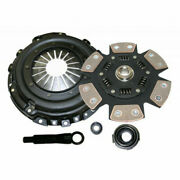 Competition Clutch Kit For Nissan Sentra 1991-2004 Stage 4 6 Pad Ceramic
