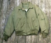 Us Army Cold Weather High Temperature Resistant Flight Jacket Large-regular