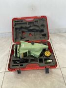 Leica Tcra1103 Robotictotal Station In Hard Carry Case