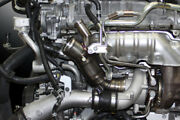 Nissan R35 Gt-r Mineand039s Titanium Turbo Suction Pipe And Samco Hose And Clamp Kit