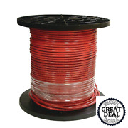 8 Red Stranded Cu Simpull Thhn Wire 1000 Ft Building Electrical Wires