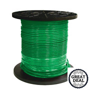 8 Green Stranded Cu Simpull Thhn Wire 1000 Ft Building Electrical Wires