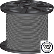 8 Gray Stranded Cu Simpull Thhn Wire 2500 Ft Building Electrical Wires