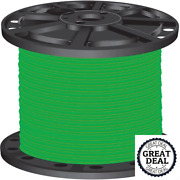 4 Green Stranded Cu Simpull Thhn 1000 Ft Building Electrical Wires