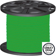 8 Green Stranded Cu Simpull Thhn Wire 2500 Ft Building Electrical Wires