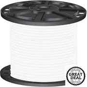 8 White Stranded Cu Simpull Thhn Wire 2500 Ft Building Electrical Wires