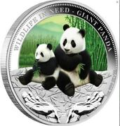 2011-2012 Wildlife In Need 5x 1 Oz Silver Proof Coin Set
