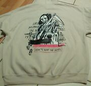 Authentic Yeezy Yeezus Hoodie How To Beat The Devil Reaper Kanye West Sz 2xl