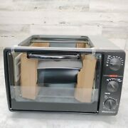 Elite Gourmet Countertop Oven With Convection And Rotisserie Plus And Griddle
