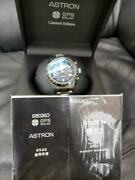 Seiko Astron Sbxb117 Limited Edition 8x22-0ah0-2 Gps Solar Mens Watch Authentic