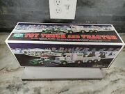 2013 Hess Gas Toy Truck And Tractor Perfect Box