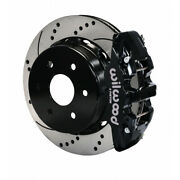 Wilwood For Gm 1500-suv 1999-2010 Truck Brake Kit Aero4 Rear 14.25in Drilled