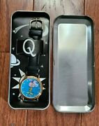 Quisp Cereal Watch New In Tin By Quaker Oats