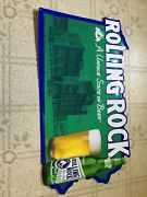 Rolling Rock Beer State Sign