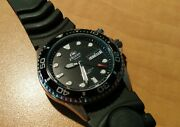 Orient Men's Em6500bb Ray Automatic Stainless Steel Watch W/ Black Rubber Strap