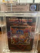 Ghosts And039n Goblins Nintendo Entertainment System 1986 Wata 7.5 First Print 🔥
