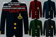Units F To Z Royal Australian Army Navy Air Force Regiment 8 Button Blazer To 52