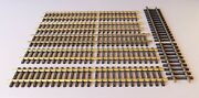 Aristocraft G Scale Brass Straight Track, Variable Lengths, 6 Pieces, Lot 11