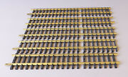 Aristocraft G Scale Brass Straight Track, Variable Lengths, 5 Pieces, Lot 12
