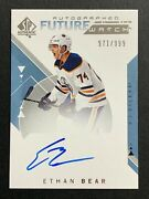 2018-19 Sp Authentic Future Watch Ethan Bear Auto Rc 971/999 Card166