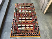 3and03910and039and039 X 6and03911and039and039 Vintage Natural Rug Village Rug Handmade Carpet.skufa1192