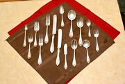 197 Piece 1847 Rogers Old Colony Flatware