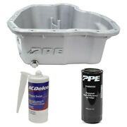 Ppe Raw Deep Oil Pan And Filter With Acdelco Rtv Sealant For 11-16 6.6l Duramax