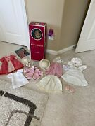 American Girl Doll Retired Elizabeth With Accessories Perfect 4 Gift