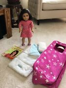 American Girl Doll Retired Chrissa Set With Accessories Perfect 4 Gift