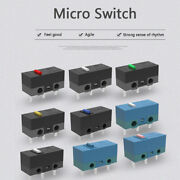 5pcs Micro Switch Gaming Mouse Micro Switch Used On Computer For Mice Buttj4