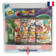 Dragon Ball Super Card Game - Pack Collector 4 Boosters The Tournament Of Power