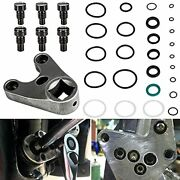 Camoo 115225fs Power Trim Tilt Seals Kit And Outboard Trim/tilt Pin Wrench Mt00...
