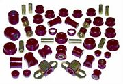 Prothane Red For Toyota Corolla Gts/sr5 Total Kit 85-87 18-2010