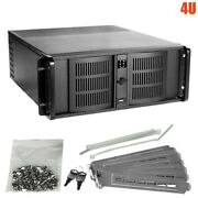 4u Rack Mount Server Chassis Case 7 Drive Bays 5.25 3.5 Hdd Hot Swap Usb Fans