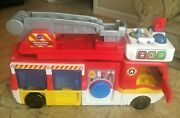 Vtech Helping Heroes Fire Station Truck 80-529800