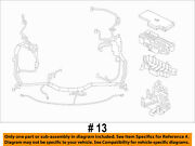 Ford Oem 15-16 F-250 Super Duty 6.2l-v8 Fuse Relay-wire Harness Fc3z12a581a