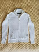 Womens Sweaters, Size S, Color White