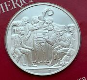 1975 Sterling Silver The Treasures Of American War News From Mexico 1848 Medal