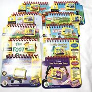 My First Leap Pad Lot Of 10 Books And Cartridges Plus Backpack Thomas Dora Disney