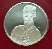 1975 Sterling Silver The Treasures Of American The Blue Clown 1931 Medal