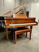 Kohler And Campbell Skg 400 Petit Grand Piano 4and0397 Polished Walnut