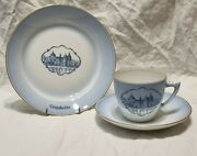 Bandg Bing And Grondahl Gripsholm Trio Cup And Saucer Author Jim Awesen
