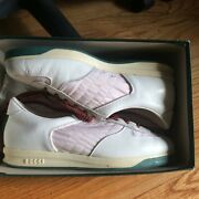 Rare Vintage 1984 Tennis Sneakers Shoes Womens 38/8 Gently Used