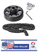 Go Kart Clutch 3/4 Bore 10t With 40 41 420 Chain For Go Kart Minibike - A2