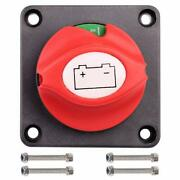 6v - 48v Battery Switch Disconnect For Marine Boat Rv Vehicle Switches