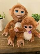 Furreal Friends Large Cuddles My Giggly Interactive Monkey With Baby Hasbro